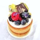 Berry Forest Tart (S$9.90)    The Deli, @GoodwoodParkHotelSG.