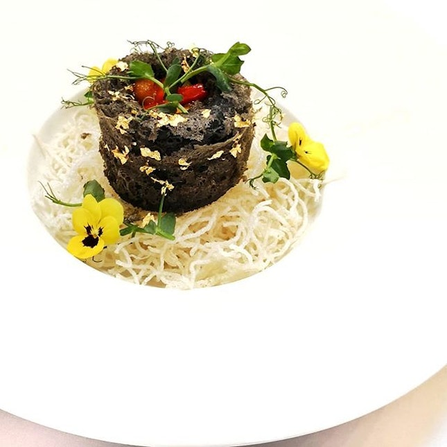 Yam Ring with Assorted Vegetables || @ElementSG .