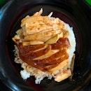 Soya Sauce Chicken Rice [~$4]