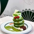 Azuki Matcha Pancakes [~$16.90]