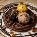 Ice Cream w Waffles [~$23]