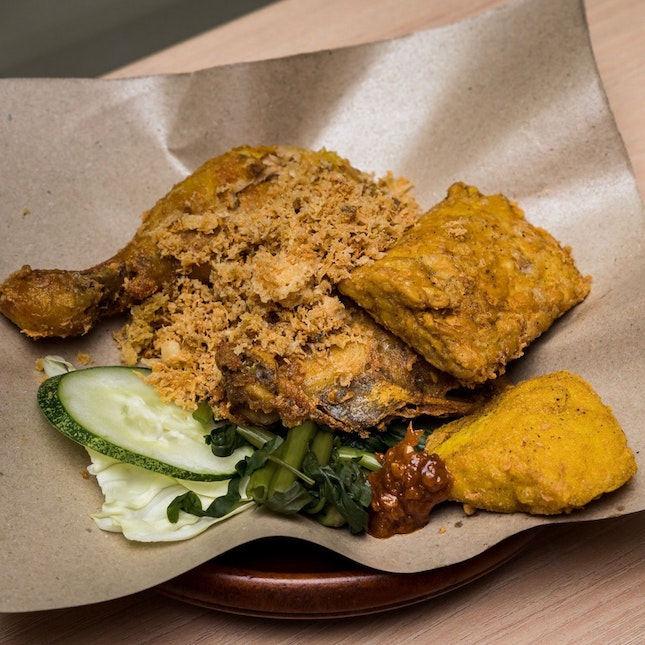 Smashed Fried Chicken [~$7.90]