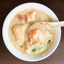 Seafood Porridge [~$9.50]