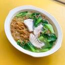 Fish Soup Ee Mee Noodles [~$5]