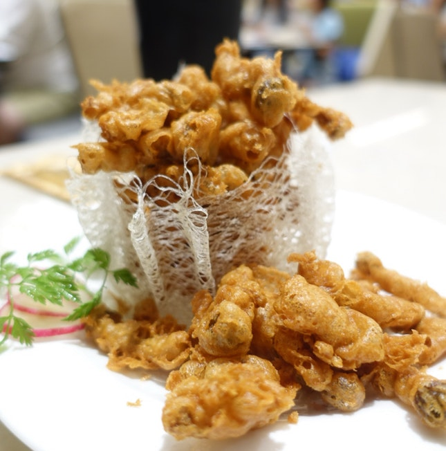 Deep Fried Mushrooms With Fermented Sauce