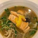 Yuzu salmon Soba (15$)