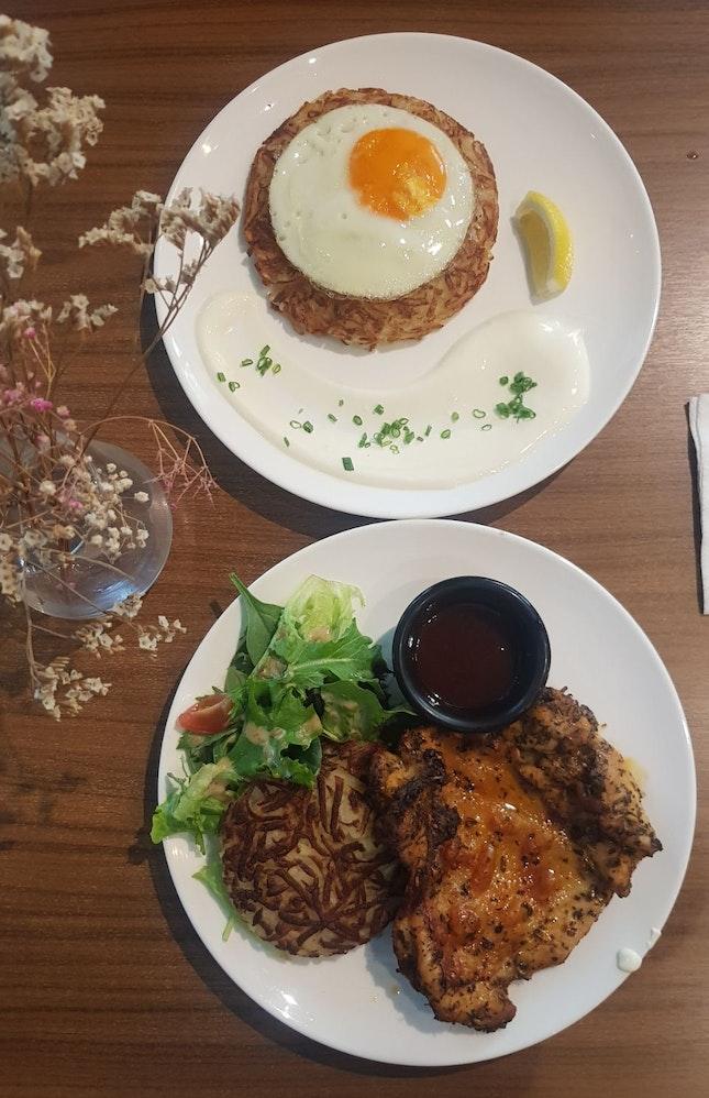 Chicken And Rosti