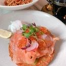 Smoked Salmon & Hash