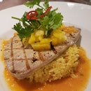 Tuna Steak with Pineapple Rice