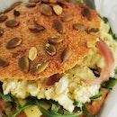 Egg Salad Sourdough Sandwich