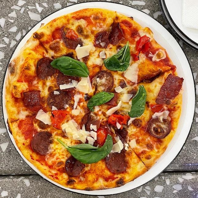 Hot Honey Pizza