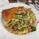 Spicy Chicken Soba Salad