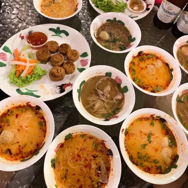 Thai Boat Noodles @ 80c!