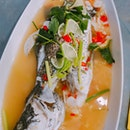 Steamed Spicy Lime Sea Bass