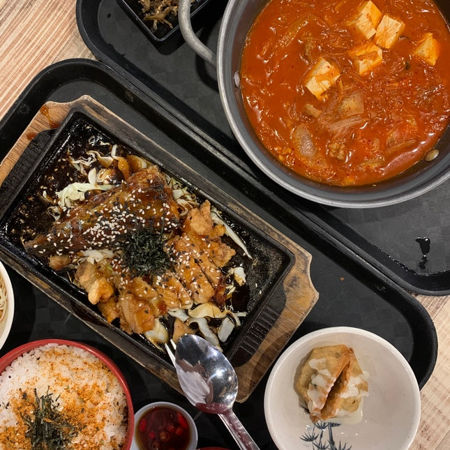 Japanese Hotplate Set & Korean Kimchi Stew Set