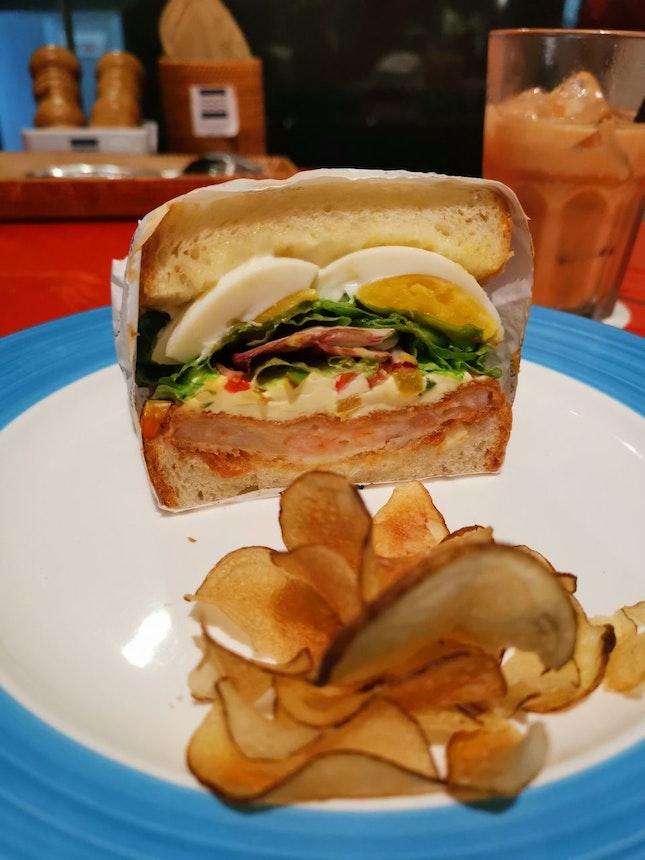 Ebi Katsu Sandwich $6.90