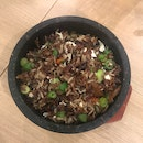 Fried Brown Rice With Black Bean Dace And Egg White