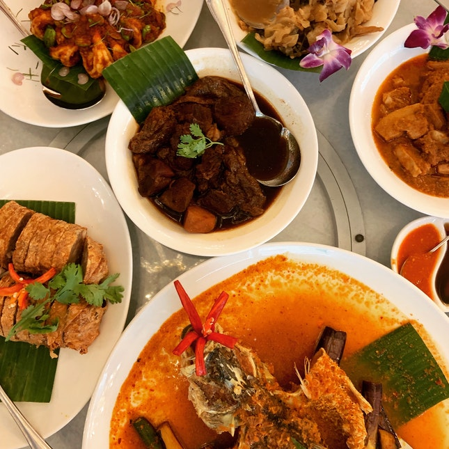Very Authentic Peranakan Cuisine