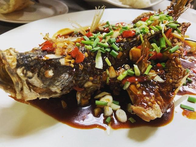 Beer Thai Fried Fish