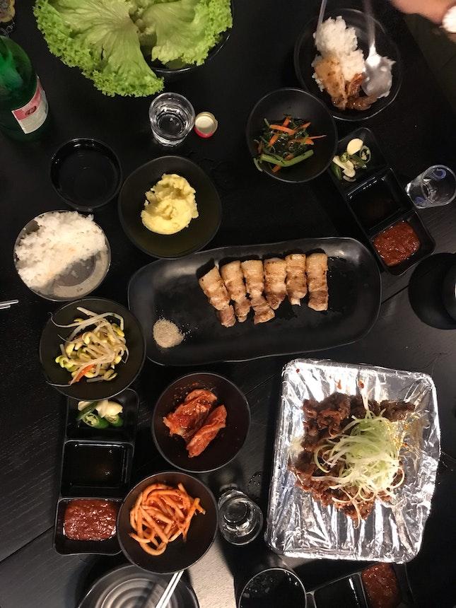 Ala-carte Korean BBQ