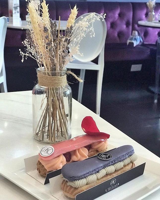 【Burpple Beyond 1-for-1】Ispahan | Violet & Cassis #leclairbysarahmichelle #cafe #cafesg #sgcafe #dessert #eclair #pastry #foodstagram #foodporn #instafoodie #instafood #sgfood #sgfoodies #burpple #burpplesg #burpplebeyond #aoburpplebeyond