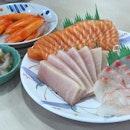 『🐟Tai | Mekajiki | Salmon | Kani | Hokkaido Tako Wasa🐙』Gotta say that the main star is the Hokkaido Tako Wasa!!😍 #foodstagram #japanesefood #sashimi #fishmartsakuraya #foodporn #instafood #instafoodies #sgfood #sgfoodie #burpple #burpplesg