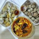 【麻辣烫 | Cockles | Gong Gong】我喜欢的宵夜〜😍 #中国好味道 #chinesefood #malatang #foodporn #instafood #instafoodie #sgfood #sgfoodies #burpple #burpplesg