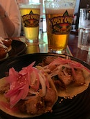 Pork Belly Tacos And Ipa