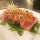 Seared Tuna OK Food And OK View