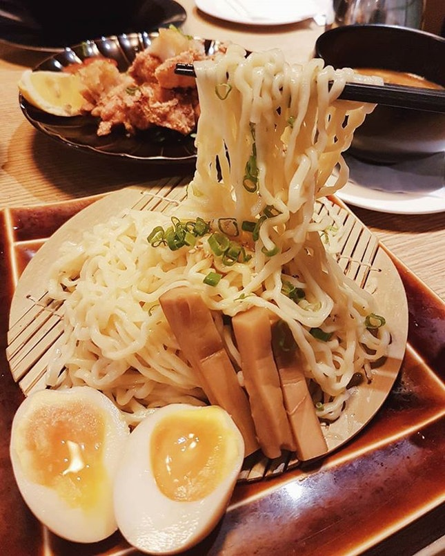 Tsukemen, which is also known as Dipping Ramen, has officially become my favourite type of ramen after today!