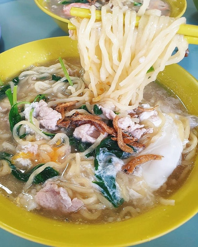 Seletar sheng mian ($3) - An addictive, homely and wallet-friendly bowl of noodles which I grew up eating, and love 😍