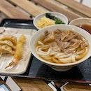 Pork Udon with Tempura