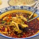 Poached Szechuan Sliced Fish 水煮鱼片🌶