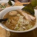 Shoyu Ramen (seafood & fish-based)