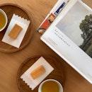 Pineapple Tart and Oolong Tea