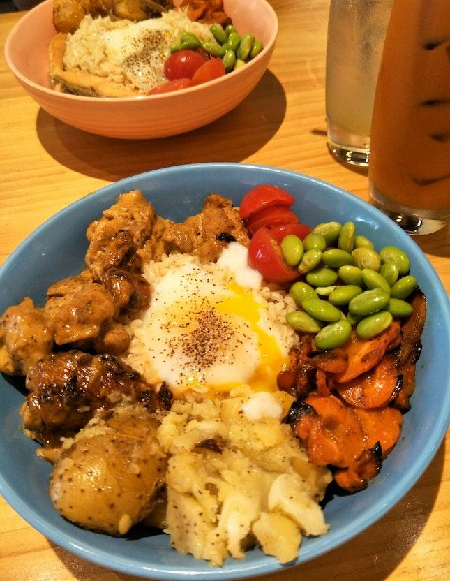 Dijon Chicken Bowl