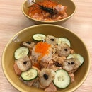 Aburi Scallop Rice Bowl