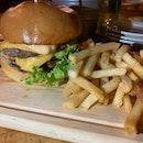 Swiss Mushroom Burger $24