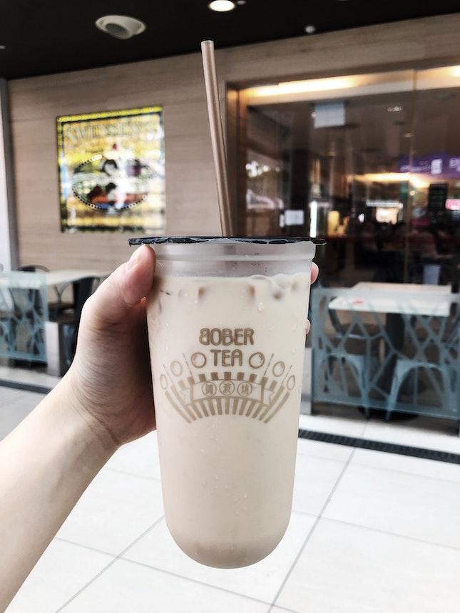 Hazelnut Milk Tea