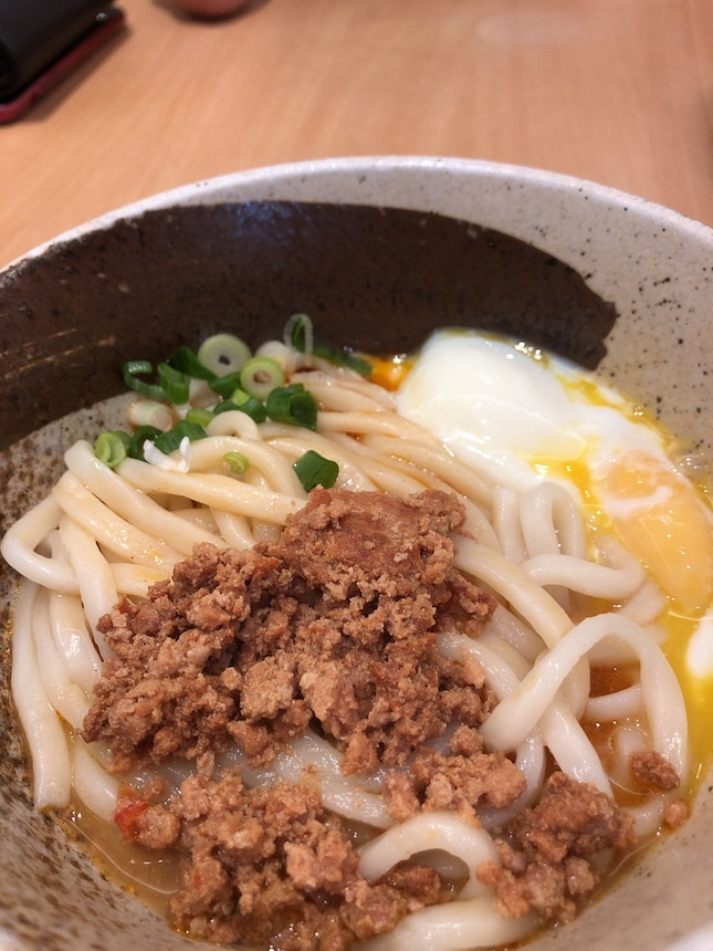 Dry udon