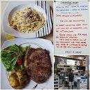 Grass-fed Ribeye Steak + Pasta Set @ $30 (Save $3)