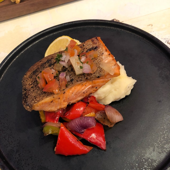 Good Meal, Awesome Salmon!