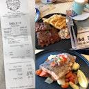 Grill Salmon ($20), BBQ Ribs ($22)