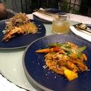 Vegetable Stew Pasta and Sakura Ebi Capellini