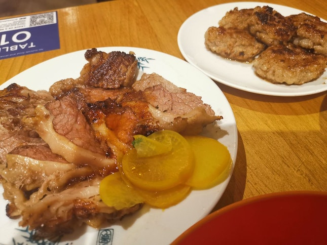 Wagyu Beef And Taiwan Sausage