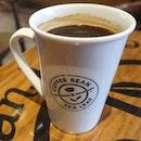 A short break at coffee Bean....