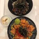 Unagi & Salmon Don