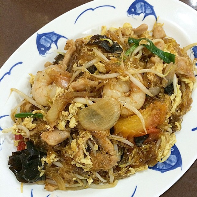 thai fried vermicelli @ joe's kitchen