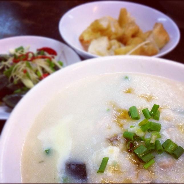 Porridge @ Ah Chiang's Porridge