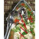thai styled seabass @ royal thai